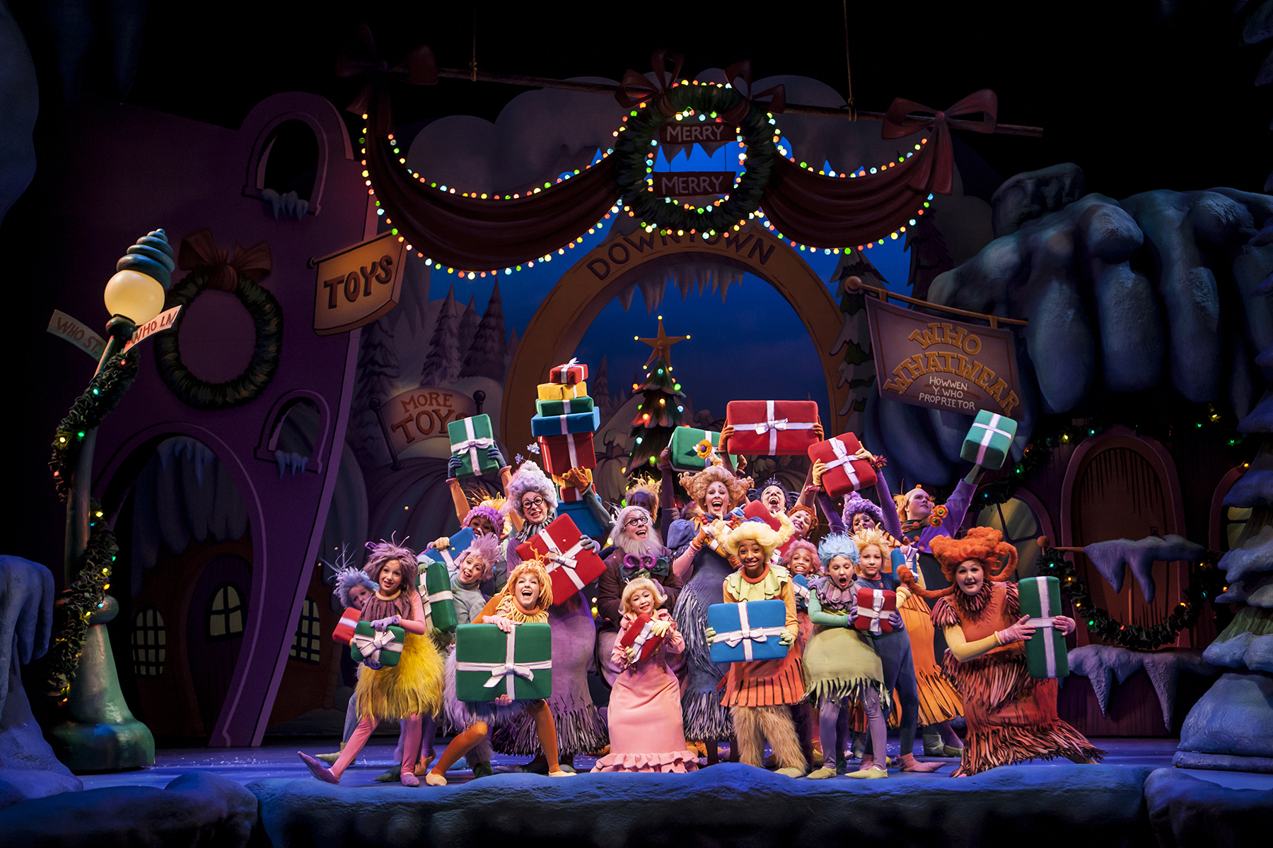 How the Grinch Stole Christmas at Children's Theatre ...