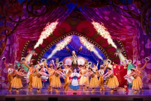 Jillian Butterfield and the cast of Disney's Beauty and the Beast Photo by Matthew Murphy